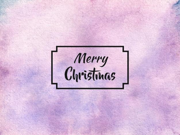 Abstrakte aquarellhintergrund-textur des weihnachtsfestes