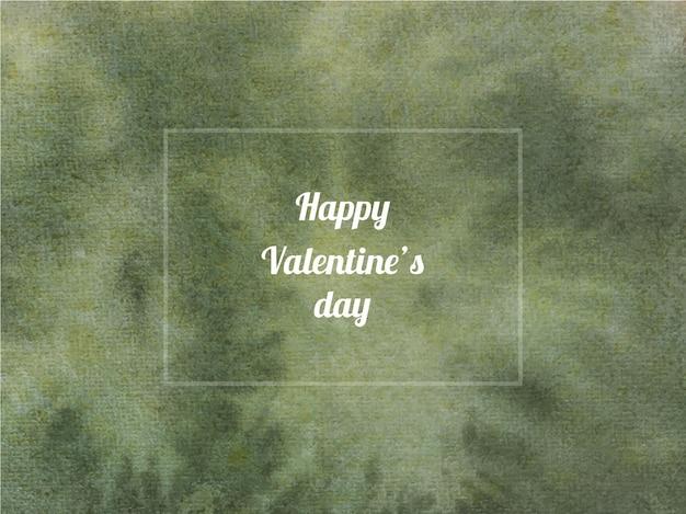 Abstrakte aquarellhintergrundbeschaffenheit des valentinstags