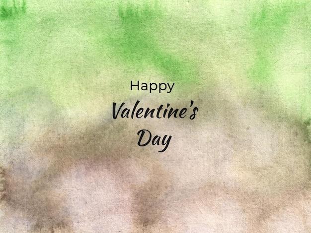 Abstrakte aquarellhintergrundtextur des valentinstags