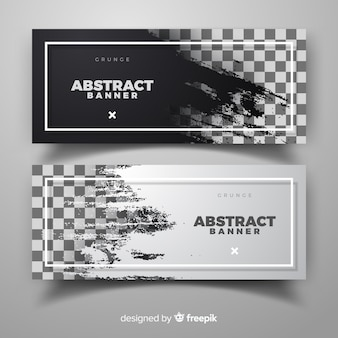 Abstrakte Banner Vorlage