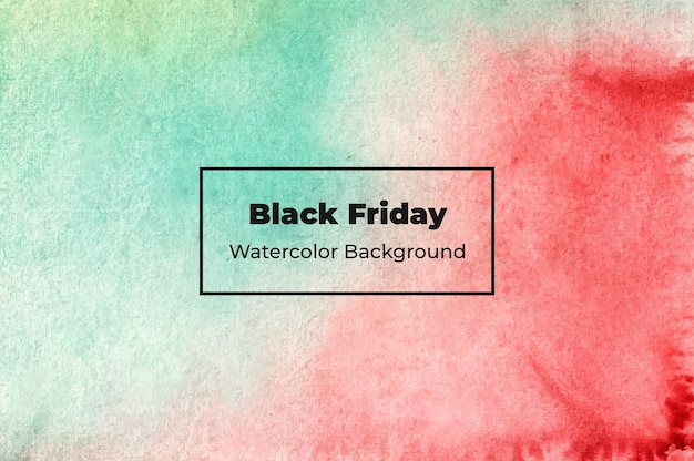 Abstrakte black friday aquarell hintergrund textur