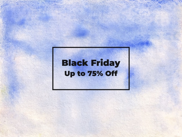Abstrakte black friday aquarell schattierungspinsel hintergrund textur