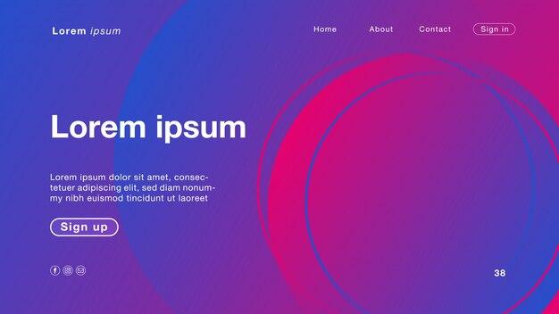 Abstrakte blaue blaue farblicht des hintergrundes für homepage