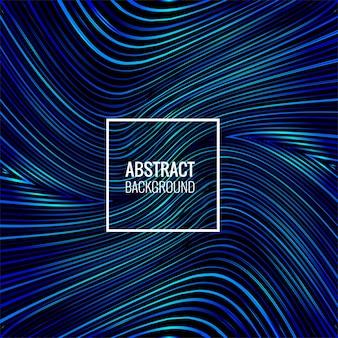 Abstrakte blaue zeilen glänzende hintergrundillustration