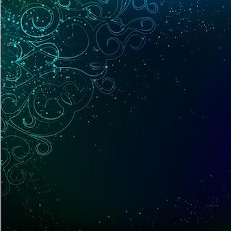 Abstrakte blaulicht-hintergrund