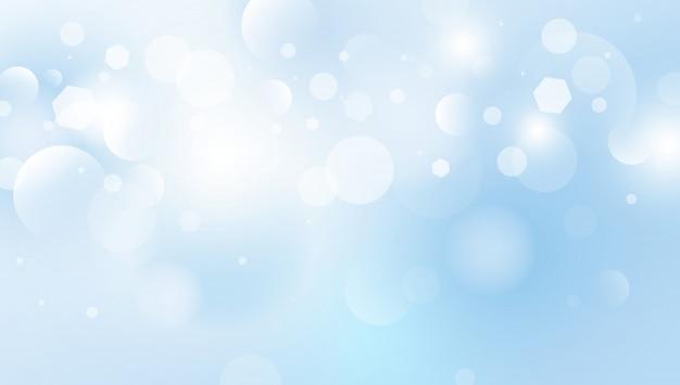 Abstrakte bokeh beleuchtet hintergrundvektorillustration