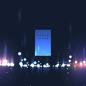 Abstrakte Bokeh Lichter Hintergrunddesign