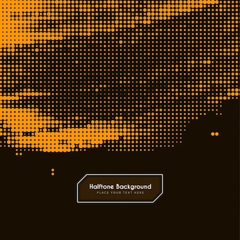 Abstrakte braune farbe halbton-hintergrund-design