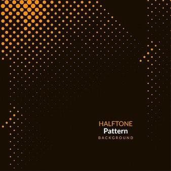 Abstrakte braune farbe halbton-hintergrundentwurf