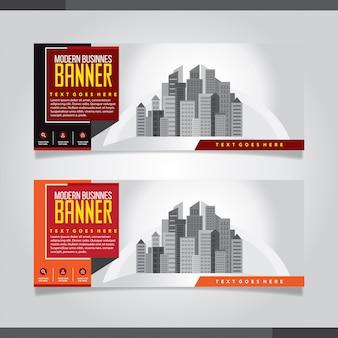 Abstrakte Business-Banner