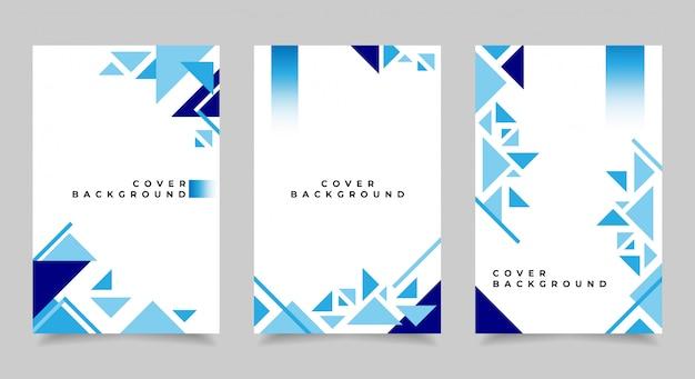 Abstrakte cover-vorlage