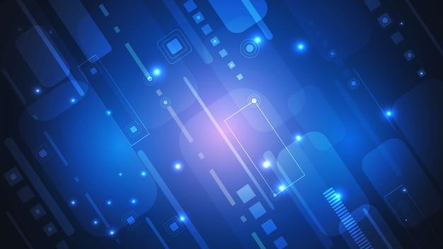 Abstrakte digitale technologie