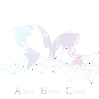 Abstrakte dna-molekül-vektor-business-infografik. infografik-design für medizinische chemie. wissenschaftliche geschäftsvorlage mit optionen für broschüre, diagramm, workflow, zeitleiste, webdesign.