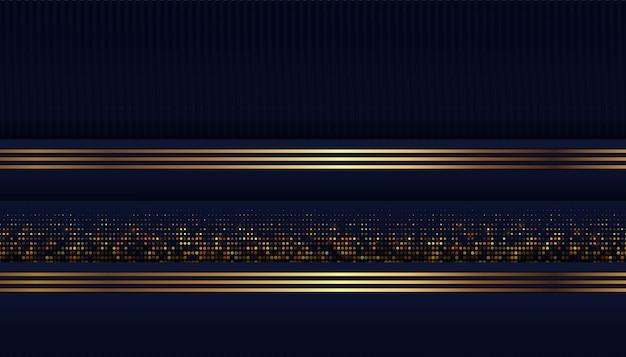 Abstrakte dunkelblaue form mit deckungshintergrund