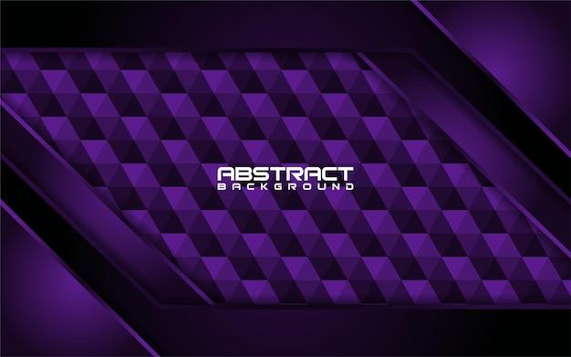 Abstrakte dunkle lila linien mit formhintergrunddesign