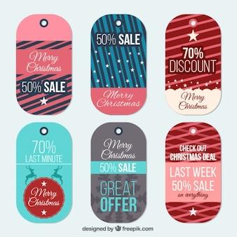 Abstrakte etiketten von weihnachten last minute angebote