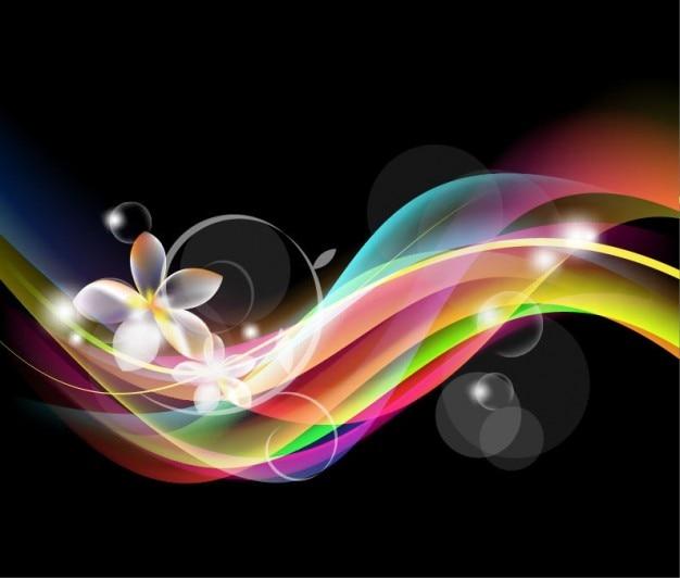Abstrakte fantastisches design vektor-hintergrund