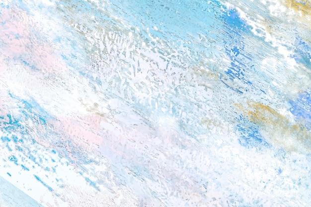Abstrakte farbe auf einer leinwand