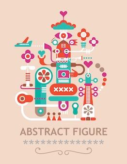 Abstrakte figur