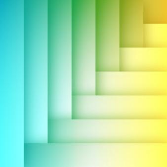 Abstrakte flache bunte hintergrund-schablone