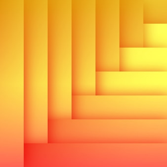 Abstrakte flache orange hintergrund-schablone