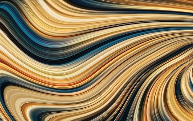 Abstrakte flüssige gradientenmalerei