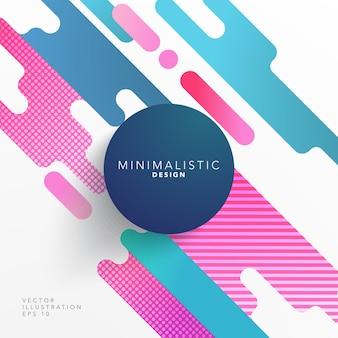 Abstrakte form cover design
