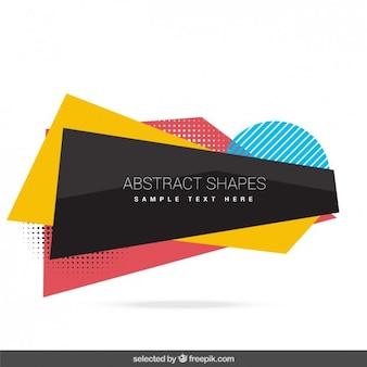 Abstrakte formen sammlung