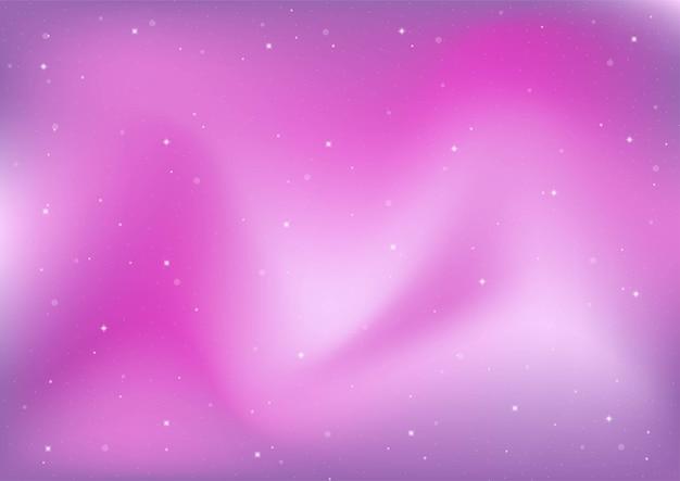 Abstrakte galaxie. kosmosraum und sterneffekt