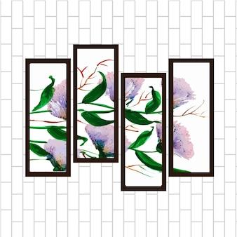 Abstrakte galerie malerei