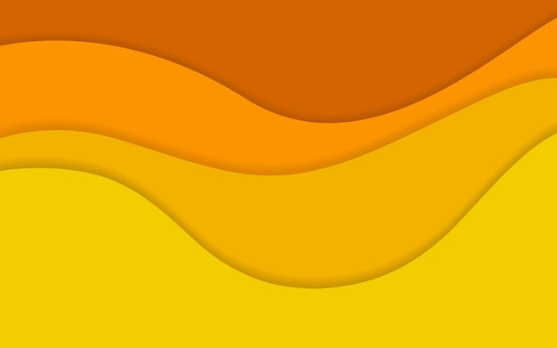 Abstrakte gelbe tonfarbhintergrund-mustertapete. vektor-illustration.