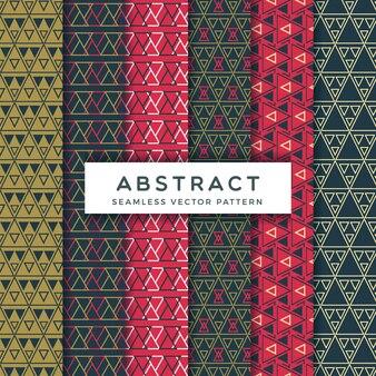 Abstrakte geometriedreieck-mustersammlung