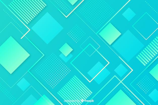 Abstrakte geometrische formen hintergrund