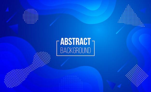 Abstrakte geometrische hintergrund-flüssigkeit formt zusammensetzung