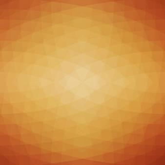 Abstrakte geometrische hintergrund in brauntönen