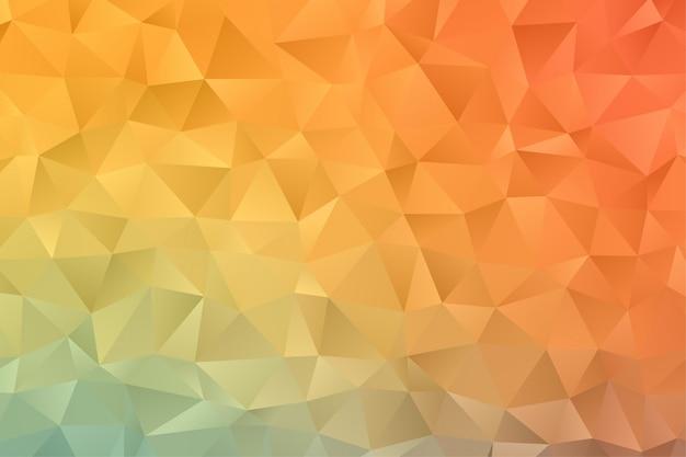 Abstrakte geometrische hintergrundtapete. bunter polygon-sechseck-premiumvektor