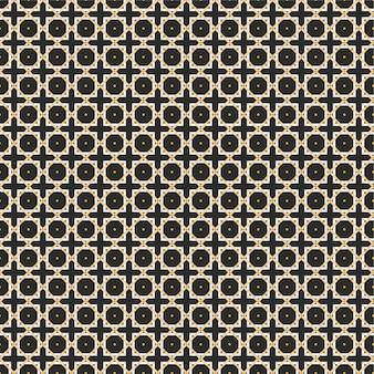 Abstrakte geometrische linien nahtlose muster