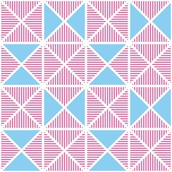 Abstrakte geometrische moderne linie nahtloses muster.