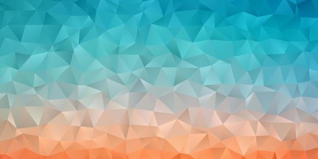 Abstrakte geometrische polygonhintergrundtapete. dreiecksform niedrig polly