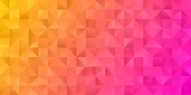 Abstrakte geometrische polygonhintergrundtapete. kopfabdeckung mit dreiecksform niedrig polly bunt