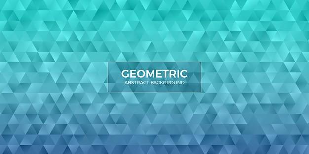 Abstrakte geometrische polygonhintergrundtapete. kopfabdeckung mit dreiecksform niedrig polly