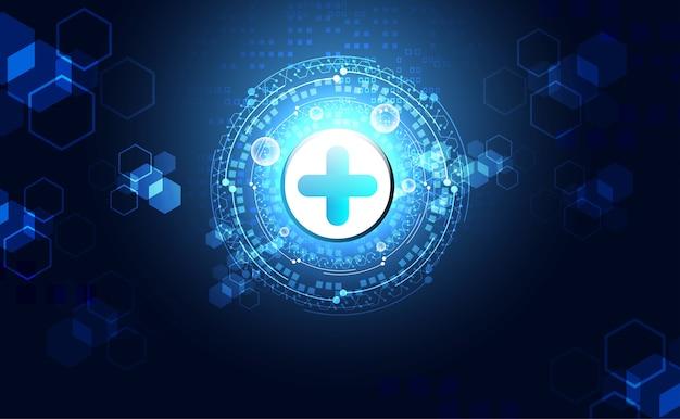 Abstrakte gesundheitswissenschaften bestehen aus gesundheit plus