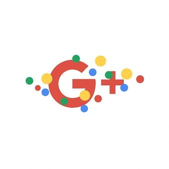 Abstrakte google plus wallpaper hintergrund