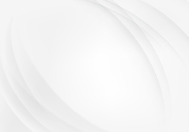 Abstrakte graue weiße wellen und linien muster.