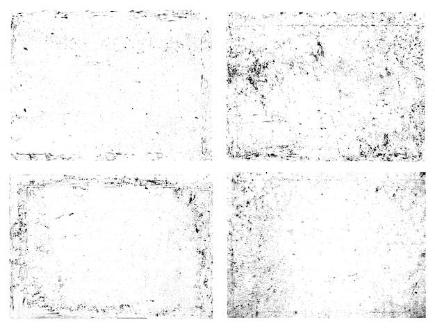 Abstrakte grunge-overlay-texturen