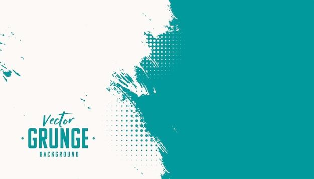 Abstrakte grunge-textur mit halbtoneffekt