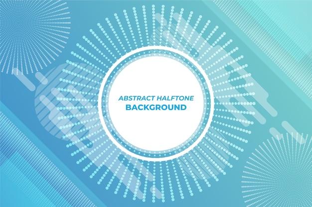 Abstrakte halbton-tapete