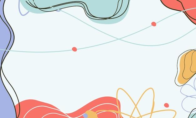 Abstrakte hintergründe abstrakter pastellfarbener hintergrund moderner trendiger hintergrund memphis-stil