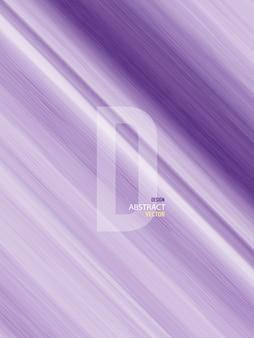 Abstrakte hintergrund-designlinie lila und weiß helle farbverläufe aquarell handgemalt. künstlerisch färben