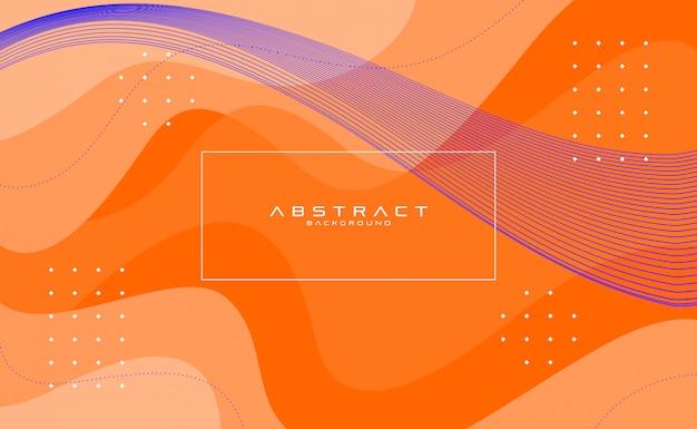 Abstrakte hintergrundtextur flüssiges flou formt farbe voll